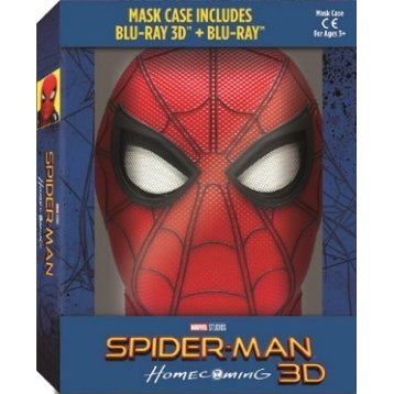 Spider-man Homecoming (3D+2D) (2-Disc) (Mask Case)