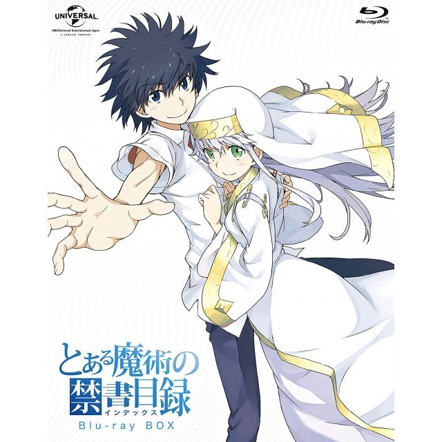To Aru Majutsu No Index Blu-ray Box