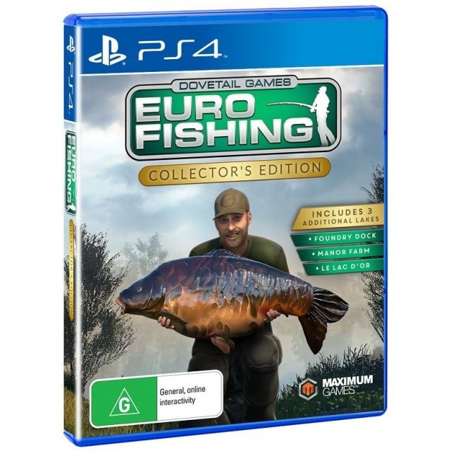 Euro fishing collector 39 s edition for Euro fishing xbox one