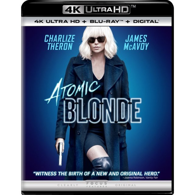 Atomic Blonde [4K Ultra HD Blu-ray]