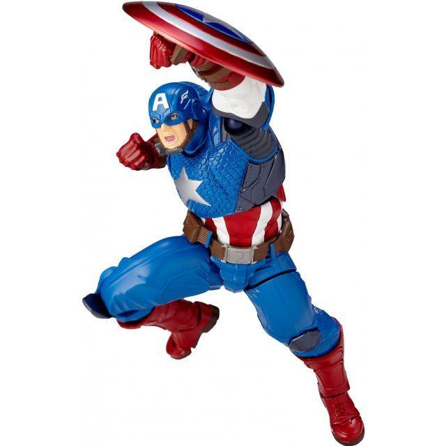 Avengers Figure Complex Amazing Yamaguchi Series No. 007: Captain America