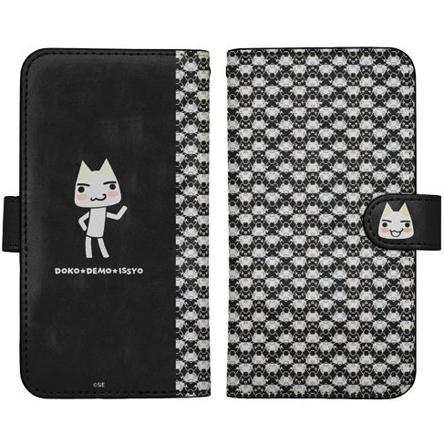 Doko Demo Issyo Datebook Type Smartphone Case