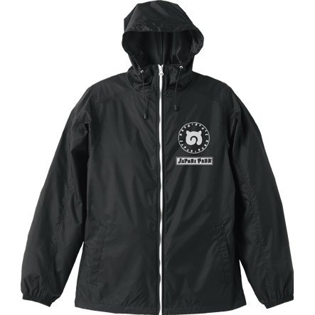 Kemono Friends - Japari Park Hooded Windbreaker Black x White (XL Size)