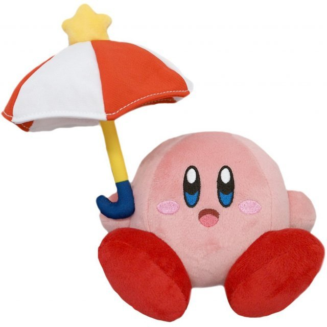 Kirby All Star Collection Plush: Parasol Kirby