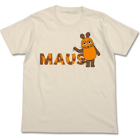 Maus - Waving Hand Mouse T-shirt Natural (L Size)