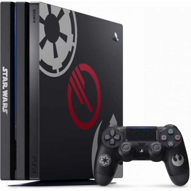 PlayStation 4 Pro CUH-7100 Series 1TB [Star Wars Battlefront II Edition]