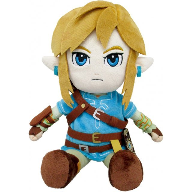 The Legend of Zelda Breath of the Wild Plush: Link (S) (Re-run)
