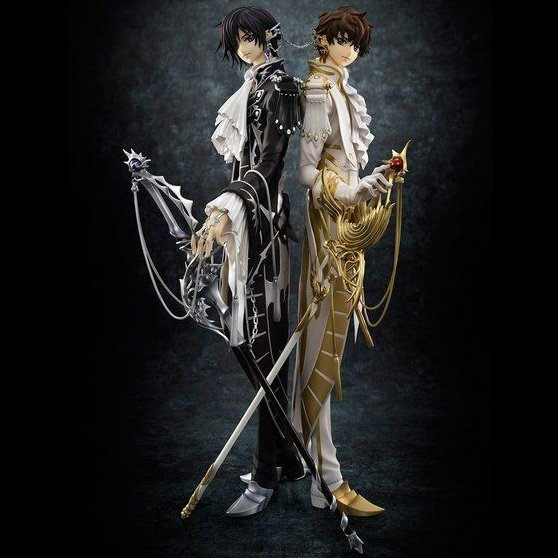 G.E.M. Series Code Geass - Hangyaku no Lelouch R2 1/8 Scale Pre-Painted Figure: Clamp Works In Lelouch & Suzaku