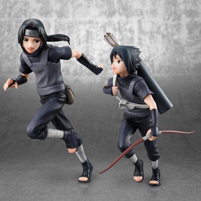 G.E.M. Series Naruto Shippuden: Itachi Uchiha & Sasuke