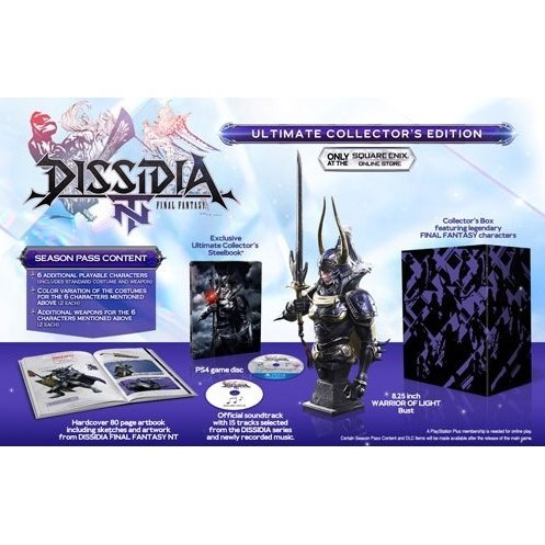 Dissidia: Final Fantasy NT [Collector's Edition] (Chinese Subs)