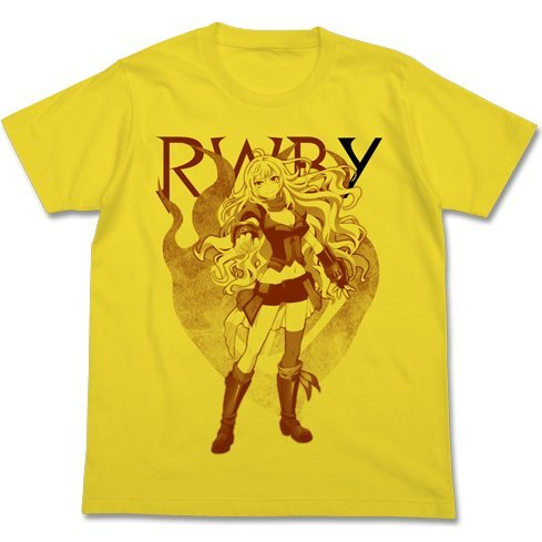 Rwby - Yang Xiao Long T-shirt Yellow (XL Size)