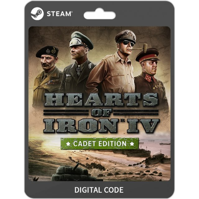 Hearts of Iron IV [Cadet Edition]