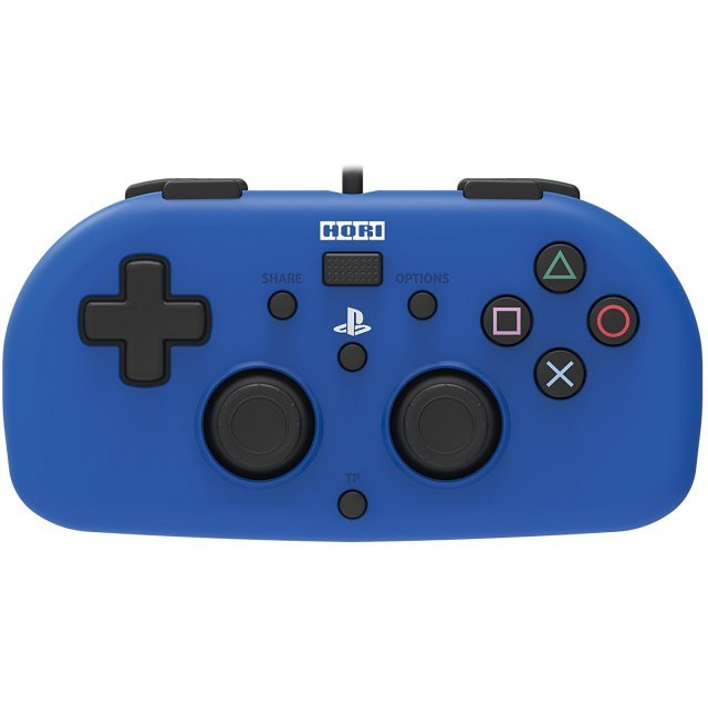 Hori Wired Controller Light for PlayStation 4 (Blue)