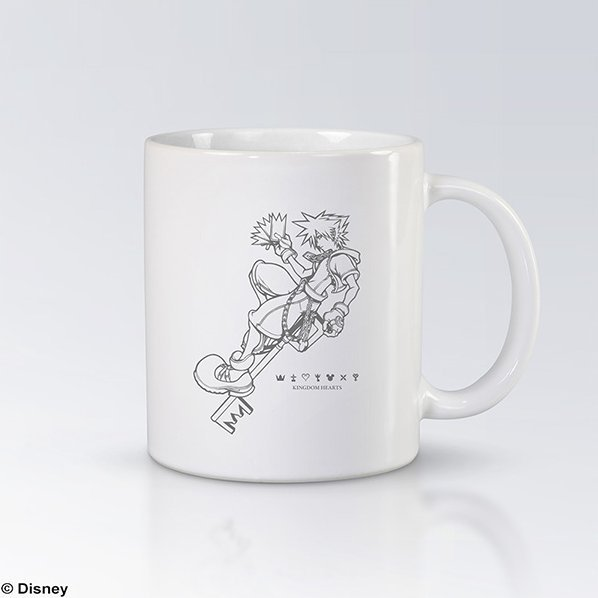 Kingdom Hearts Mug Cup - Sora A