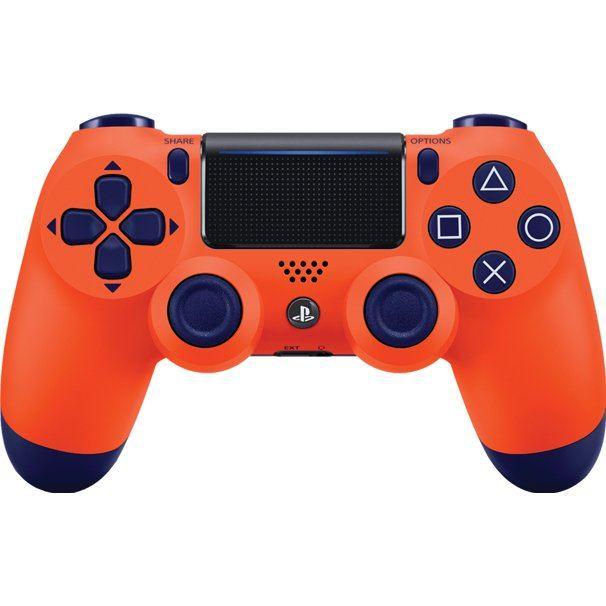 New DualShock 4  (Sunset Orange)