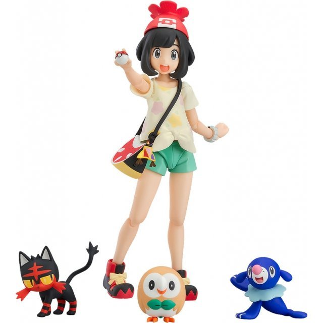 figma Pokemon Sun and Moon: Selene [Good Smile Company Online Shop Limited Ver.]