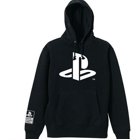 PlayStation Classic Logo Hoodie Black (L Size)