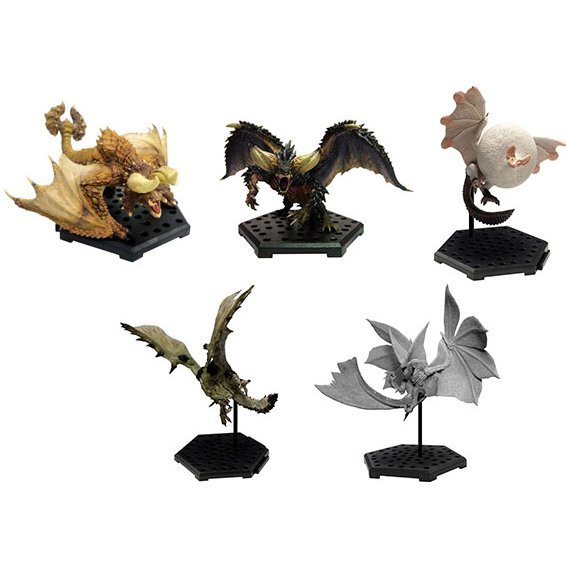 Capcom Figure Builder Monster Hunter Standard Model Plus Vol. 10 (Set of 6 pieces)