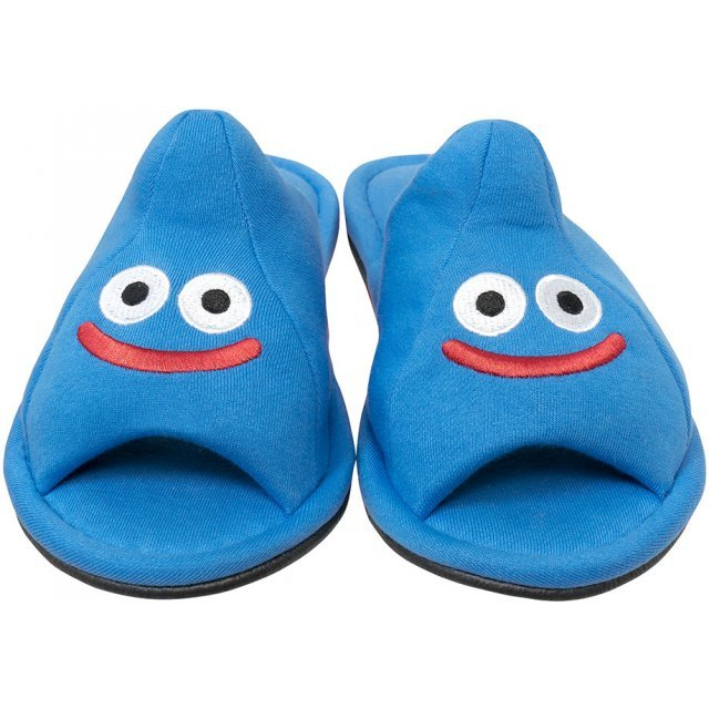 Dragon Quest Smile Slime Room Slippers - Slime