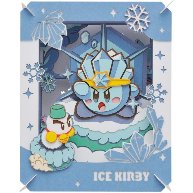 Kirby's Dream Land Paper Theater - Ice Kirby
