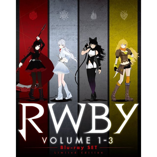 Rwby Volume 1-3 Blu-ray Set [Limited Edition]