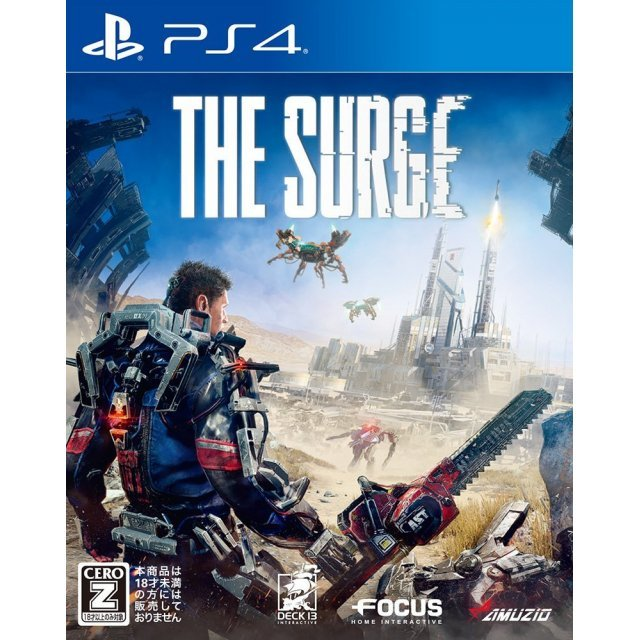 The Surge Nioh Poster Ps4 Region 3 English Games