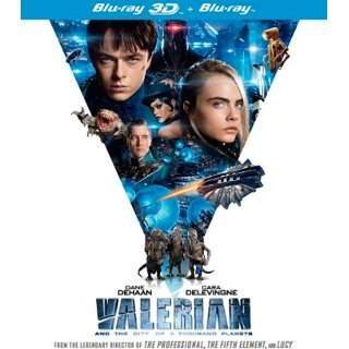 Valerian and the City of a Thousand Planets (3D+2D) (2-Disc)