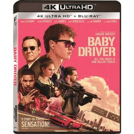 Baby Driver (UHD+BD) (2-Disc)