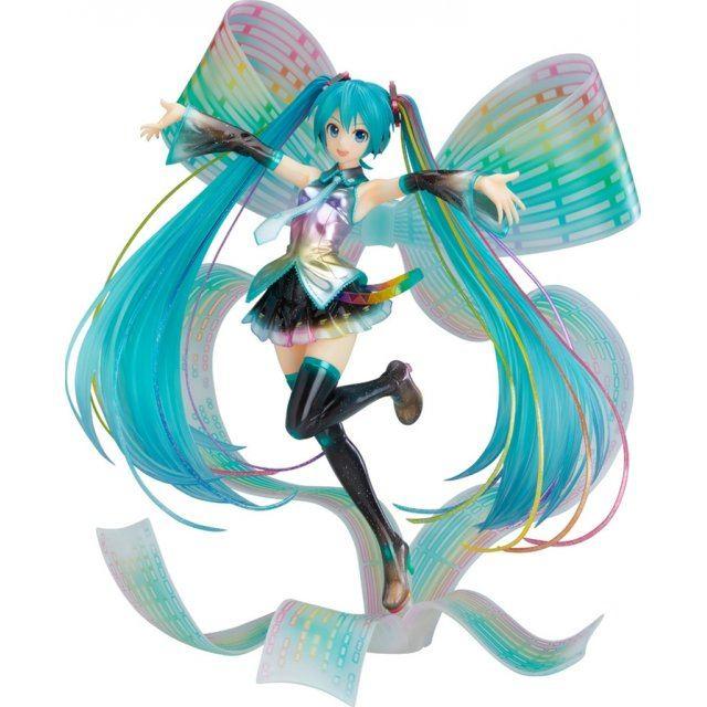 Character Vocal Series 01 Hatsune Miku 1/7 Scale Pre-Painted Figure: Hatsune Miku 10th Anniversary Ver. Memorial Box