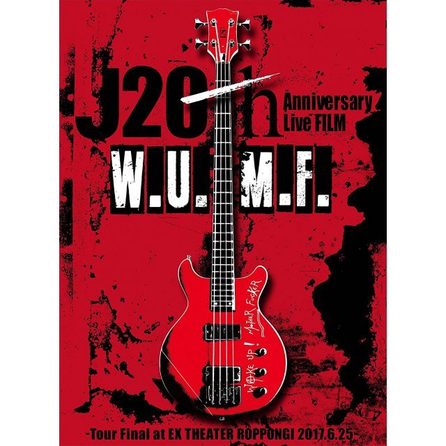 J 20th Anniversary Live Film [W.U.M.F.] Tour Final At Ex Theater Roppongi 2017.6.25 [2DVD+CD Limited Edition]