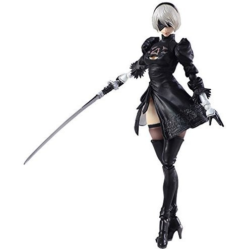 Nier: Automata Bring Arts: 2B & Machine Life Form Set