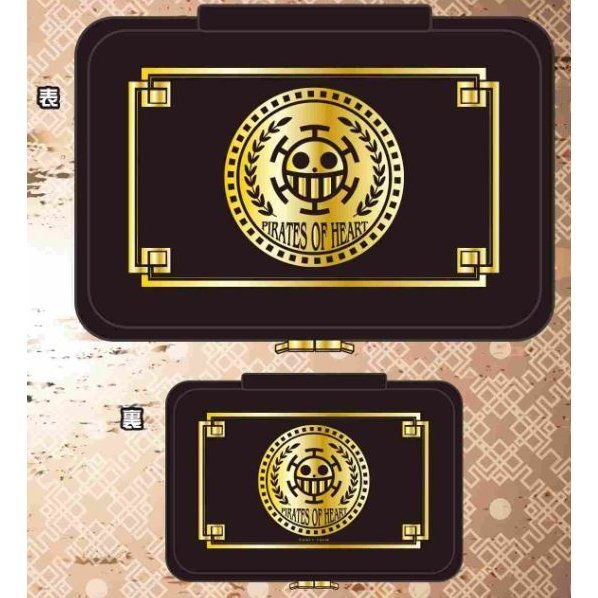 One Piece Heart Pirates Compact Pouch for Nintendo Switch