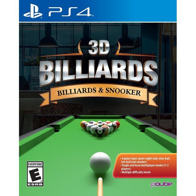 3D Billiards: Billiards & Snooker