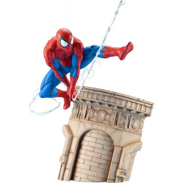 ARTFX+ Marvel Universe 1/6 Scale Pre-Painted Figure: Spider-Man Web Slinger
