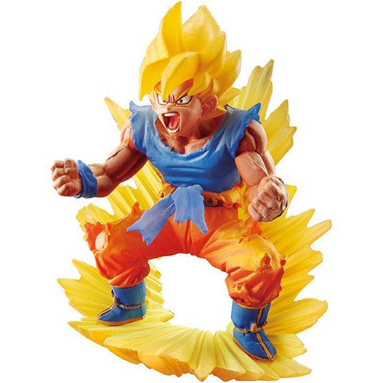 Dracap Memorial 02 Dragon Ball Super Pre-Painted PVC Figure: Super Saiyan Son Goku