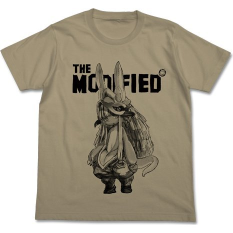 Made In Abyss - Nanachi T-shirt Sand Khaki (XL Size)