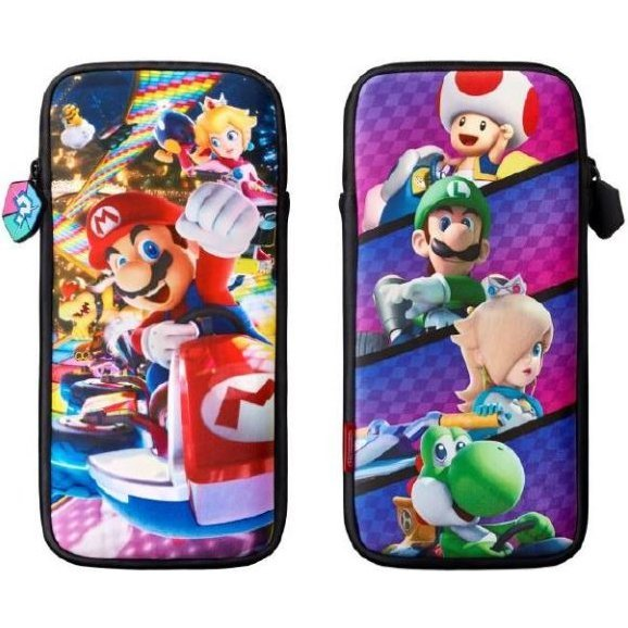 multi pouch for nintendo switch mario kart 8 deluxe grand prix edition. Black Bedroom Furniture Sets. Home Design Ideas