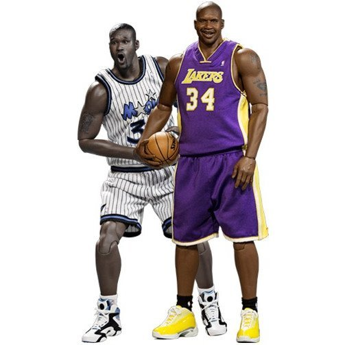 NBA Collection 1/6 Scale Pre-Painted Figure: Shaquille O'Neal Duo