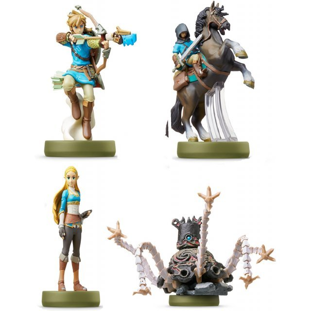 amiibo The Legend of Zelda: Breath of the Wild Series Figure (Special Bundle Pack)
