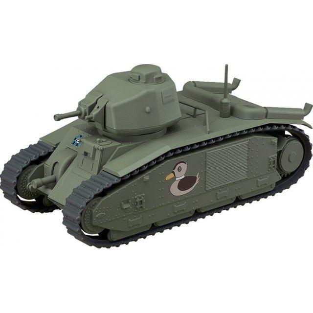 Girls und Panzer das Finale Nendoroid More: Char B1 bis