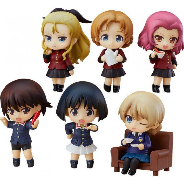 Girls und Panzer das Finale Nendoroid Petite: Girls und Panzer 03 (Set of 6 pieces)