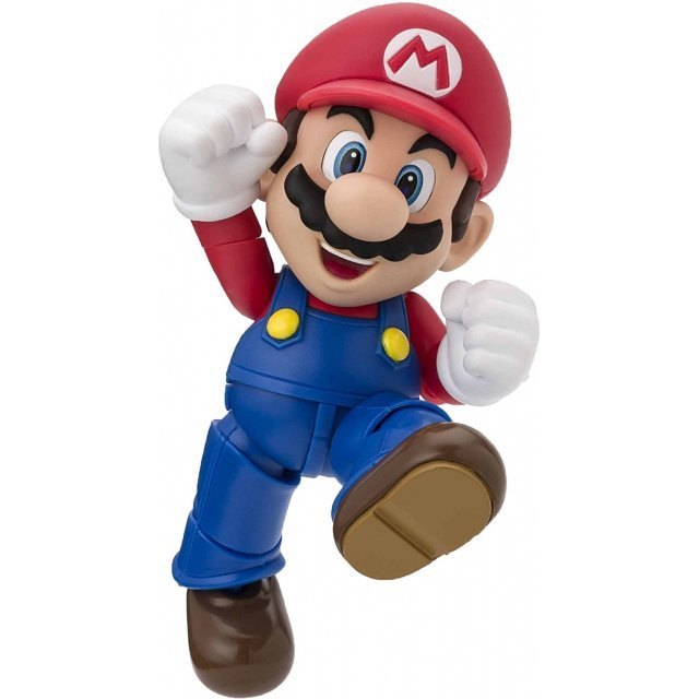 S.H. Figuarts Super Mario Brothers: Mario (New Package Ver.)