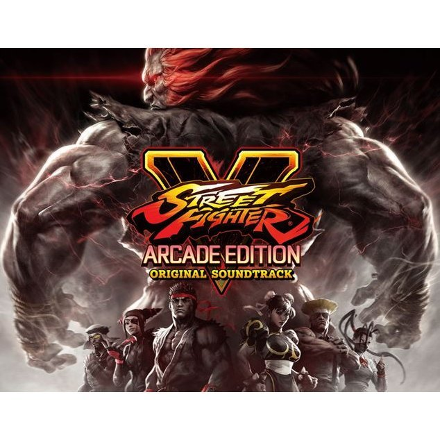 Street Fighter V Arcade Edition Original Soundtrack