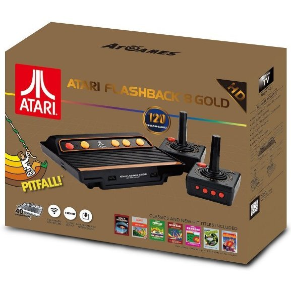 AtGame Atari Flashback 8 Gold HD Classic Game Console