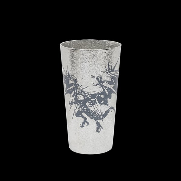Final Fantasy Tin Tumbler Bahamut