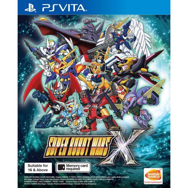 Super Robot Wars X (English Subs)