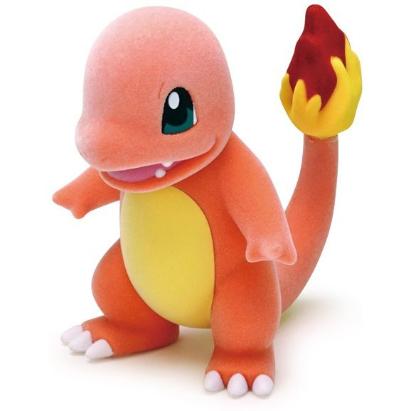 Pokemon Flocking Doll: Charmander
