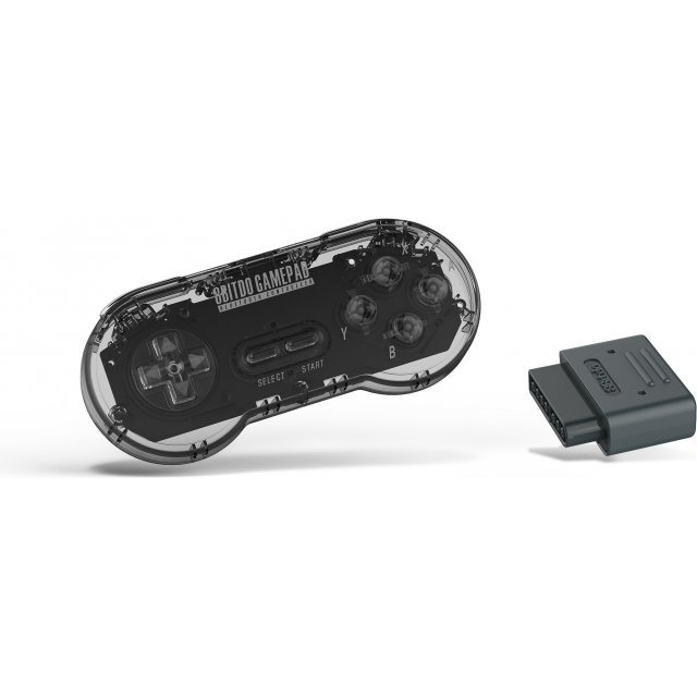 8Bitdo SN30 Retro Set (Transparent Edition)