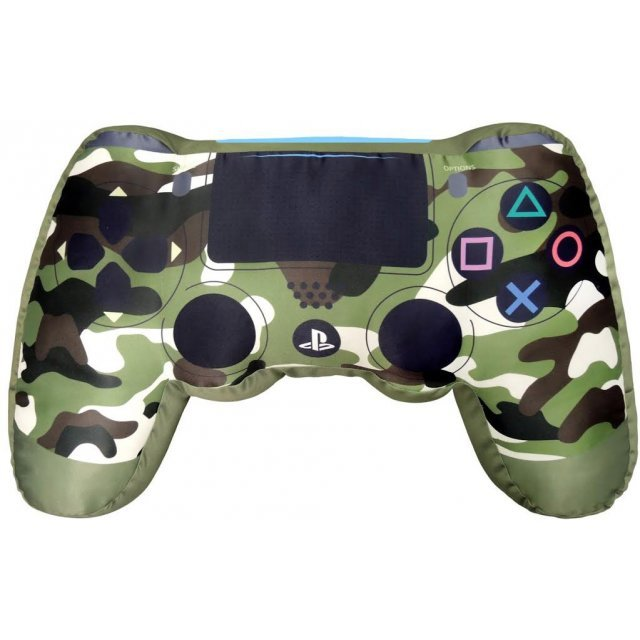 DualShock 4 Wireless Controller Shape Cushion (Camouflage Green)