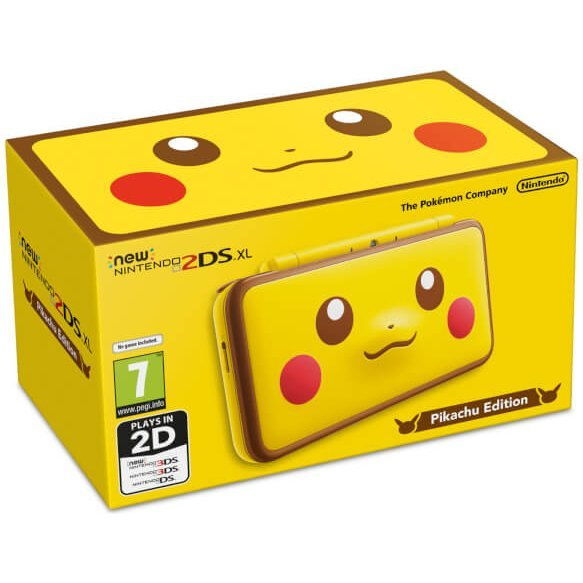 New Nintendo 2DS XL [Pikachu Edition]